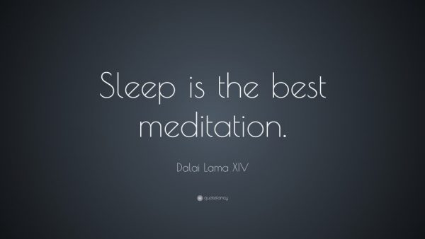 Sleep Quote about best sleep times