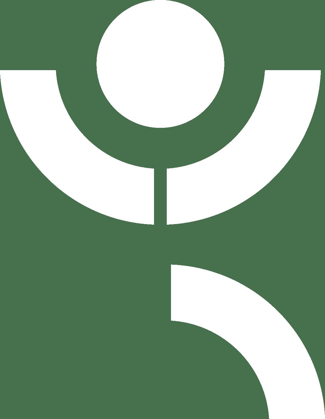 white Fitness icon
