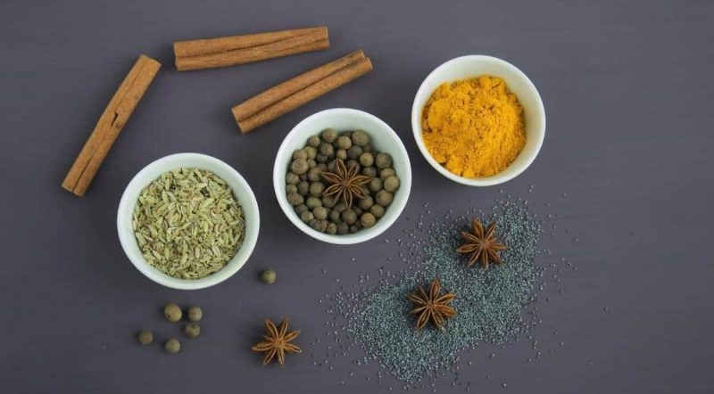 Spices for Piperine benefits