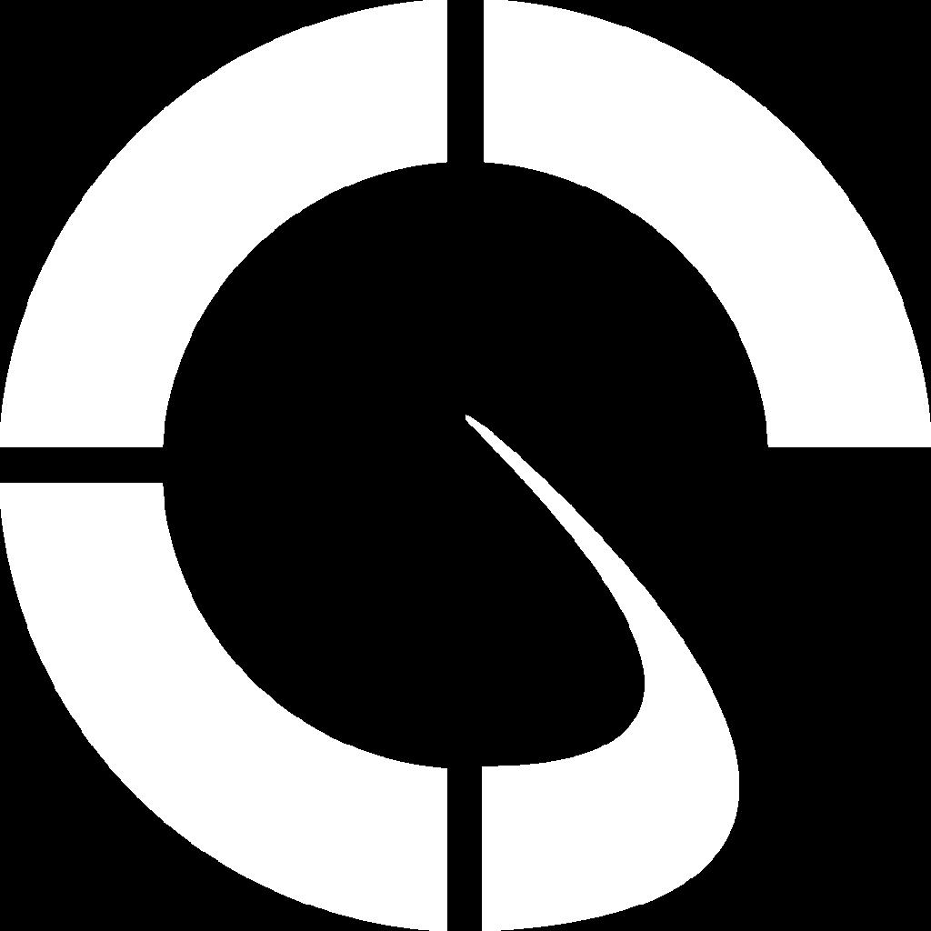 white Mindfulness icon