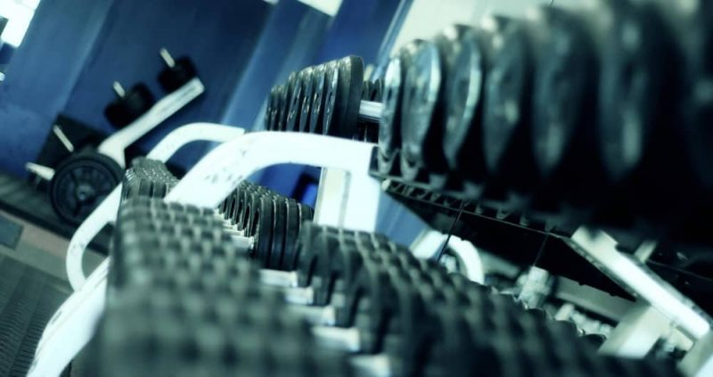 Dumbbells in a row for the optimal back volume