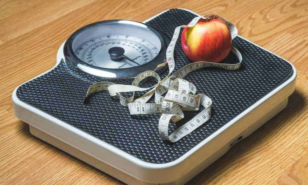 Track your dietary progress daily on a scale