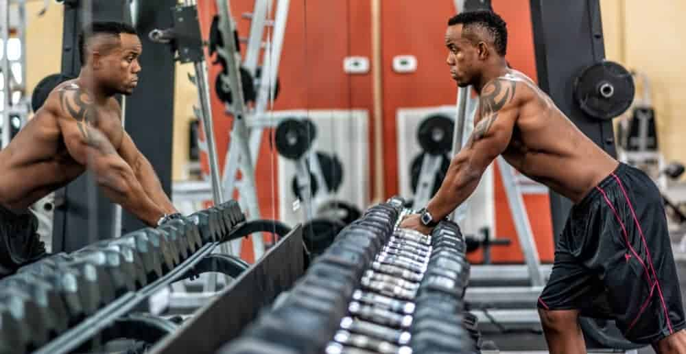 In the gym with HMB for Muscle Growth