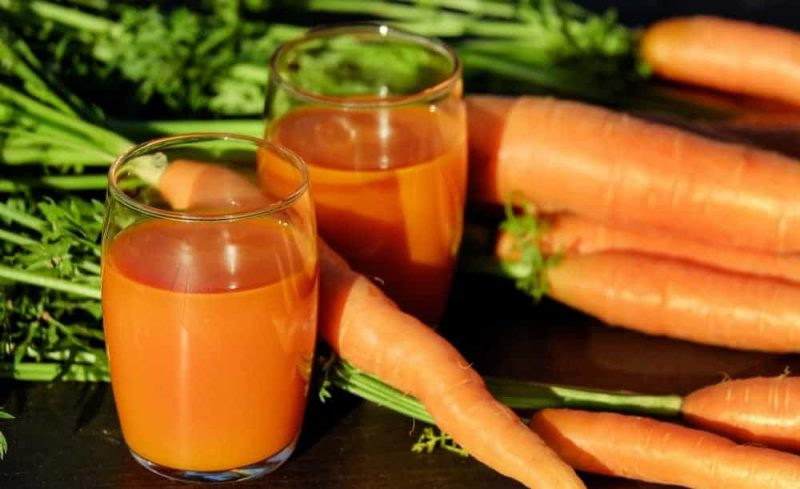 Carrots for Benefits of Potassium