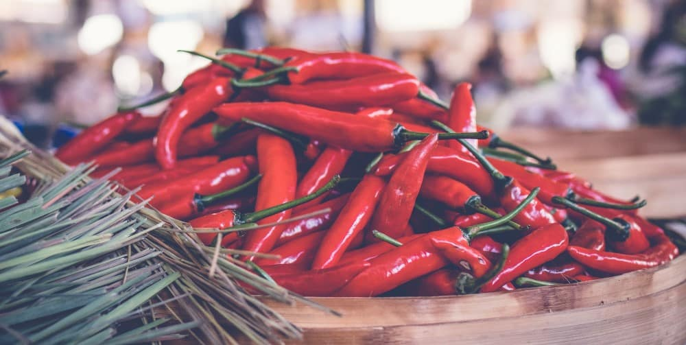 Peppers for Cayenne for Benefits of Capsaicin