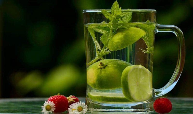 Fresh Lemon Balm tea for Anxiety