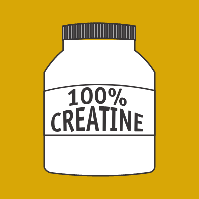 Canister of Creatine